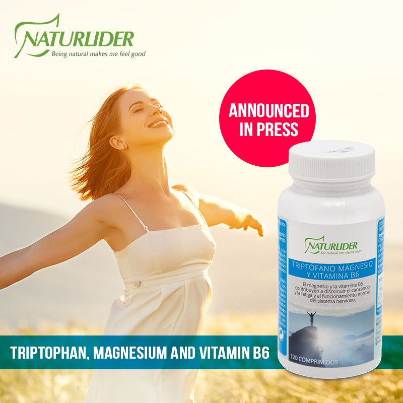 triptophan, magnesium and vitamin b6